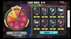 Lucky Wheel FF