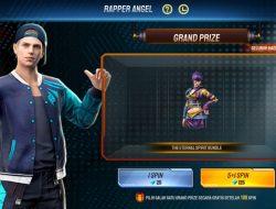 Rapper Angel Bundle FF, Dapatkan Juga Celana Angel Wings dari Event Ini