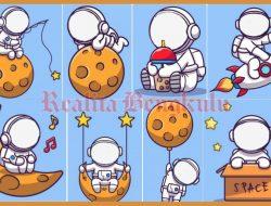 Twibbon Astronot Yang Viral di Tiktok, Buruan Download