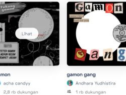 Twibbon Gamon Terbaru 2021, Gamon Gang Wajib Coba