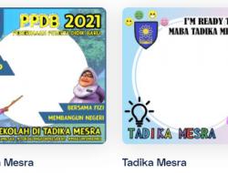 Link Download Twibbon PPDB Tadika Mesra 2021 dan MPLS 2021