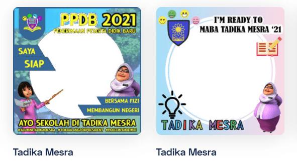 Twibbon Tadika Mesra 2021