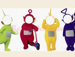 Twibbon Teletubbies (Tinky Winky, Dipsy, Lala dan Po) Plus Link Download