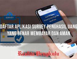 10 Aplikasi Survey Penghasil Uang Terbaik dan Terbaru 2021