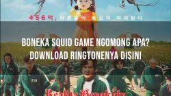 Boneka Squid Game Ngomong Apa