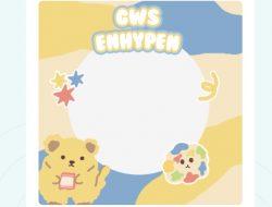 Twibbon GWS Enhypen, Engene Selalu Support dan Dukung, Ini Linknya
