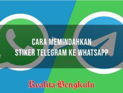 Cara Memindahkan Stiker Telegram ke WhatsApp Tanpa Aplikasi Terbaru