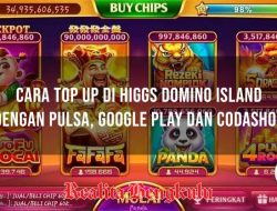 Cara Top Up Domino Island dengan Pulsa, Google Play atau Codashop