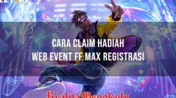 Web Event FF Max Registrasi